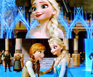 disney, frozen, and elsa image