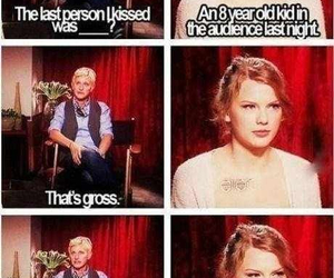 ellen, funny, and Taylor Swift image