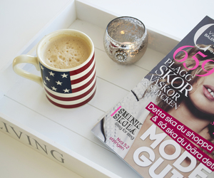 candle, chic, and coffee image