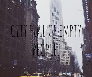 city, new york, and quote image
