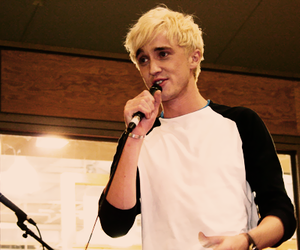 boy, draco malfoy, and OMG image