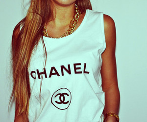 chanel, girl, and fashion image