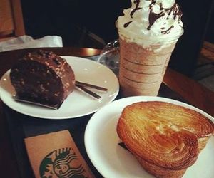 starbucks and food image