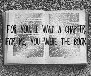 book, love, and chapter image