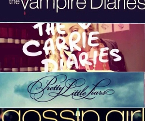 pretty little liars, gossip girl, and the vampire diaries image