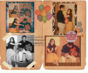 balloon, girl, and photo image