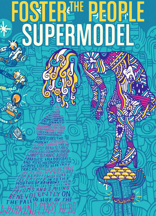 Supermodel Foster The People Via Tumblr On We Heart It