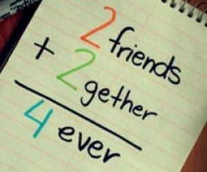 friends, forever, and me image