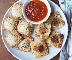 cheese, italian, and pasta image