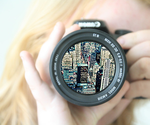 camera and new york image