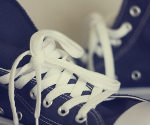blue and converse image