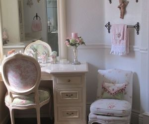vintage, bedroom, and girly image