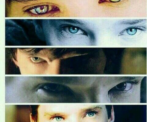 eyes, beautiful, and benedict cumberbatch image