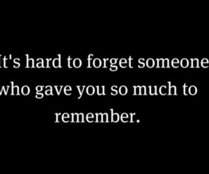 quote, remember, and forget image