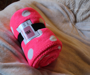 blanket and pink image