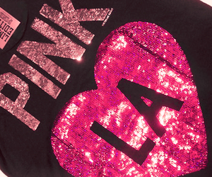 pink, la, and sparkle image