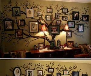 diy, family, and tree image