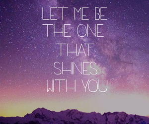 quote, shine, and love image