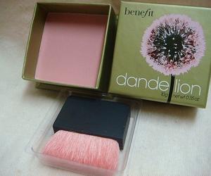 pink, benefit, and makeup image