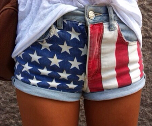 shorts, usa, and america image