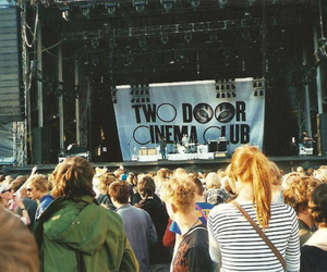 two door cinema club, concert, and music image