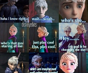 elsa, frozen, and jack image