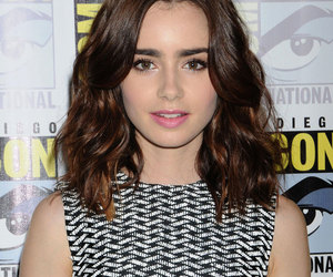 lily collins and mortal instruments image