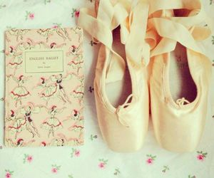 ballet, pink, and shoes image