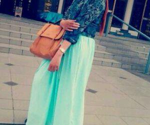 fashion, muslima, and hijab image