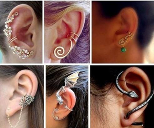 amazing, piercing, and ear image