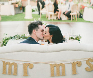 brendon urie, panic! at the disco, and wedding image