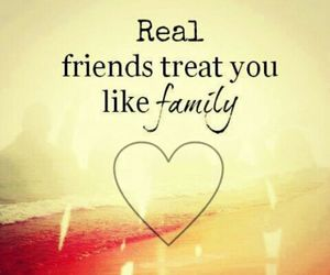 family, friends, and quote image