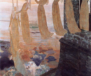 angels, art, and carlos schwabe image