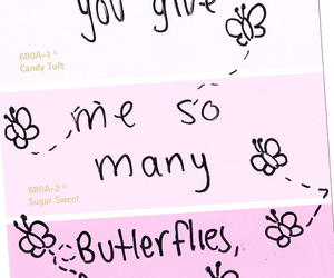 butterfly, happy, and quotes image
