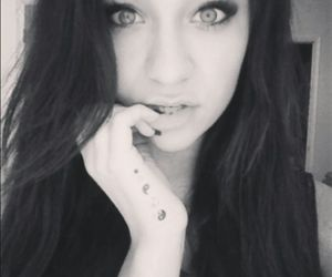 girl, andrea russett, and youtube image