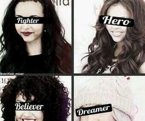 little mix, dreamer, and fighter image