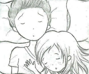 love, pillow, and couple image