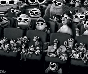 black and white, incredibles, and walle image