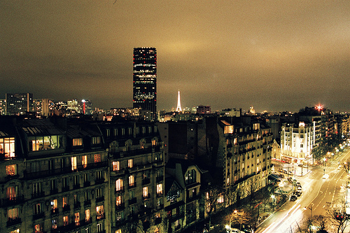 paris, city, and night image
