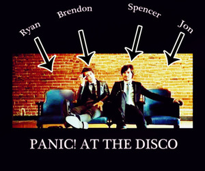 brendon urie, jon walker, and miss image