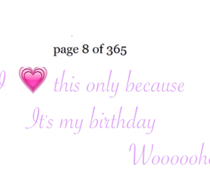 8, birthday, and quotes image