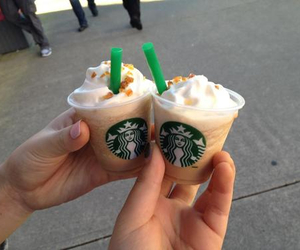 starbucks, mini, and coffee image