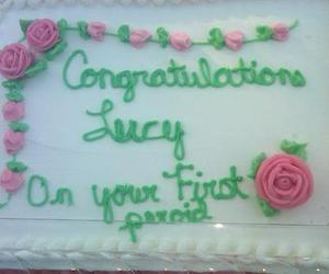 cake, period, and funny image