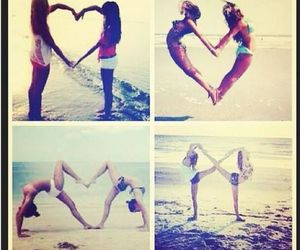 always, beach, and best friends image