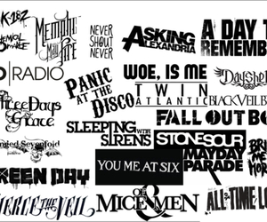 avenged sevenfold, fall out boy, and green day image