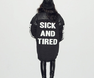 fashion, sick, and tired image