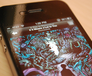 a day to remember, iphone, and adtr image