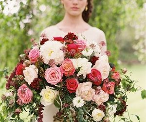 beautiful, bouquets, and bridal image