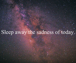 sleep, sadness, and quotes image
