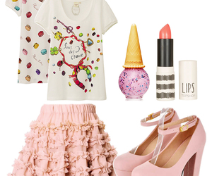 candy, clothes, and etude house image